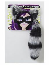 Raccoon Animal Kit Set Adult Costume Accessory, One Size