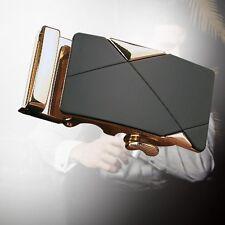 Boucles Ceinture Mode Automatique Luxe pour Les Homme Sangle Cuir Taille GOLD EH