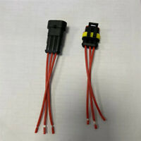 3-Pin Way Sealed Car Waterproof Male Female Electrical Connector Plug Wire IP67