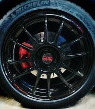 OZ RACING Ford 4 x 60-90mm Custom Wheel Centre Hub Cap Sticker Decal
