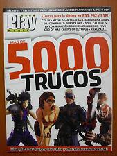 Más de 5000 trucos de PlayManía: claves, secretos para PS3 PS2 PSP en Castellano