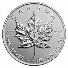 Royal Canadian Mint Silver Bullions