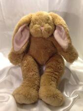 "Build a Bear Workshop Plush Light Brown Floppy Ear Bunny Rabbit 17"" Bab"
