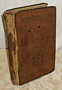 POEMS OF WORDSWORTH 1892 MATTEW ARNOLD ILLUSTRATED GILDED TOP