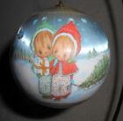 Hallmark+Collection+Satin+Christmas+Ball+Ornament+1979+Precious+Moments