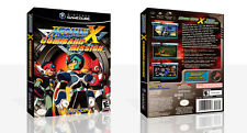 Mega Man X: Command Mission Game Cube case + box Art Work Cover no game