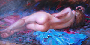 Female Nude Hand Painted Classical Beautifu Oil Painting Fine Art On Canvas