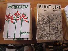 Revues de l'I.B.S.(international bulb society),revue scientifique de 1934 à 2006