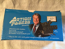 1992 ACTION PACKED FOOTBALL JOHN MADDEN TRADING CARD BOX SEALED