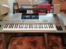 Yamaha tyros keyboard with stand and speakers good condition