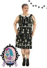 Collar Sleeveless Dresses A-Line