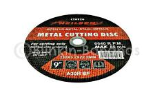 High Quality 9 Inch 230mm Grinder Metal Cutting Disc for Angle Grinders