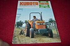 Kubota L4150 Tractor Dealers Brochure BWPA