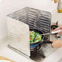 Cooking Splash Guard Gas Stove Frying Oil Splatter Shield Proof Kitchen Tool