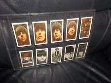 THE BEATLES RUBBER SOUL WARUS LIMITED EDITION FULL SET TRADING CARDS SLEEVED