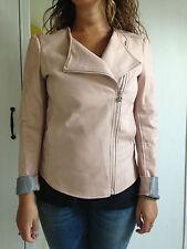 Chiodo ecopelle rosa tg.42 Loiza By Patrizia Pepe - ottime condizioni