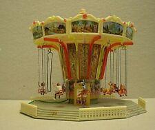 Vintage Plastic HO Building - Very Rare Fairground Chair Plane Ride