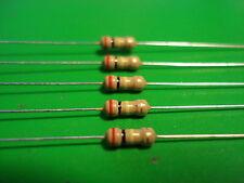 Resistor (5)  1/4watt 200k ohm 5% Carbon Film Resistors in Canada Free Shipping
