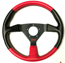 "Grant Steering Wheel GT 1067 13.5"" GM Chevy Ford Mopar Dodge Red and Black"