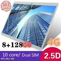 10.1 Inch 8GB+128GB Tablet MT6797 4G Dual SIM Card Phone pad 4G Call Wifi