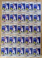 1989 Fleer U-67 - Nolan Ryan - HOF Texas Rangers - 25ct Card Lot