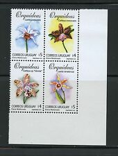 Uruguay  2000  #1857   flora flowers ORCHIDS block  MNH  K751