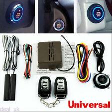 Intelligent auto alarm system with remote engine start stop keyless entry set