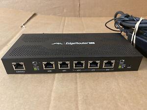 Ubiquiti Edgerouter PoE 5 Ports Router-ERpoe-5 Router plus Power Adapter