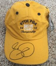 1809cdeca04 Jason Day Signed 2015 PGA Championship Whistling Straits Golf Hat New proof