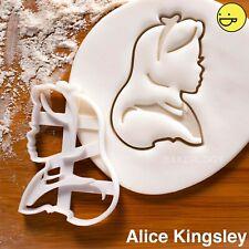 Alice cookie cutter | Alice's Adventures in Wonderland tea party biscuit cutters