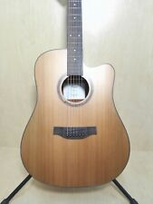 Klema Dreadnought Cutaway Guitar w/Built-in Fishman EQ K100DC-CE - Blemished