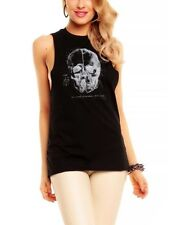 Gothic Sleeveless T-Shirts for Women without