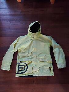 AIRBLASTER Mens Snowboard jacket Flourescent Yellow Size Small