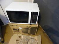 SAMSUNG MC28H5013AW/EG Kombi Mikrowelle mit Grill und Heißluft 900W, Weiß