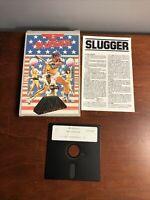 Vintage IBM Software 1986 The Slugger Baseball Computer Game Mastertronic