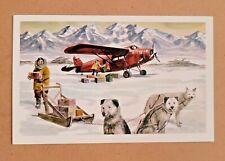 Vintage Alaska Airlines Postcard - Alaska's Famed Bush Pilots