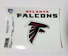 "Atlanta Falcons 3 x 4"" Small Static Cling - Truck Car Auto Window Decal NEW"