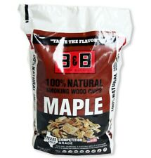 B & B Charcoal 00127 Maple Wood Smoking Chips, 180 Cubic Inch