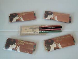 "Soviet Union Cosmetic Pencils ""Enchantress"" USSR . Set 4 colors 5 packs . 112 mm"