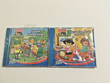 2 Fisher Price Little People Favorite Animal Songs Discovering Music Games CD