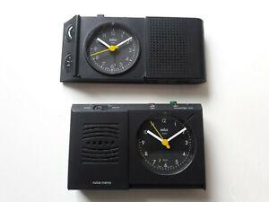 Konvolut 2 x Original Braun Type 4779 Weckradio & 3867 Voice Control Wecker