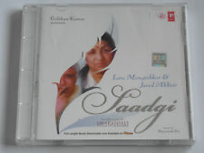 Saadgi - Mangeshkar & Akhtar - Bollywood (CD Album) Used Very Good