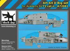 Black Dog A72081 Resin 1/72 Hughes/Westland AH-64D Big Set ACADEMY