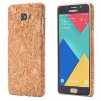 Samsung Galaxy A5 (2016)  LIÉGE HOUSSE BOIS NATURE HARD CASE COVER CAS COQUE