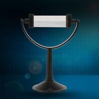 Physik Tripel-Dreiecksprisma Optisches Glasprisma Prisma Werkzeug mit Ständer❤