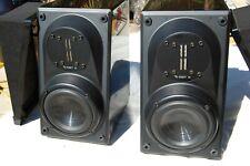 Vintage Infinity Modulus Speakers EMIT Tweeters great sound