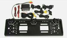 Driwei TEC-27875 Portatarga con Telecamera Posteriore 2 Sensori - Nera