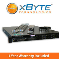 Dell PowerEdge R430 Server 2x E5-2630v3 2.4GHz 8-Core 128GB 4x 1.8TB 10K H330
