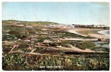 Early  TENBY  Golf Links Pembrokeshire  Postcard