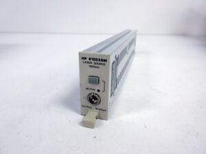 HP 81553SM LASER SOURCE MODULE 1550NM ~ AGILENT